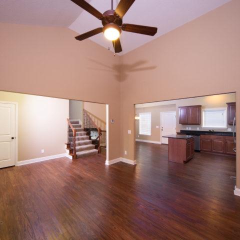 Frontier Heritage Communities Home Living Room & Kitchen